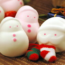 ★ usually enjoy two 1 box type ★ snowman and Santa marshmallows set chocolate and custard taste! ■ 6 pieces! ■