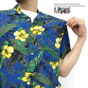 "Originals and Hawaiian 55430-100% rayon and 10 colors! ""Japanese style"" x ""resort"" rayon Aloha shirt"