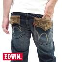 "EDWIN / Edwin XVS403-146-denim-series 4 colors! ""Exclusive Vintage"" a ""XV"" flap regular straight denim (blue in color)"