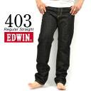 """403 403-401 ... """"Regular Straight"""" regular straight denim (black) Marukawa made in 403-401 INTERNATIONAL BASIC EDWIN/ Edwin - Japan"""