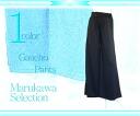 TR T-cloth gaucho pants