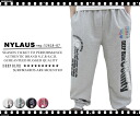 47% Off Rakuten ranking Prize! NYLAUS / night surf Rainbow print sweatpants