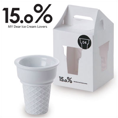 15.0% アイスクリーム コーンシルエットカップ