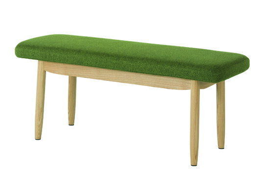 グリーン ソーサー ベンチ