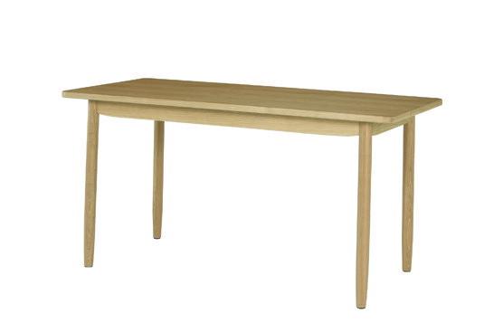 ソーサー ダイニングテーブル140 ナチュラル