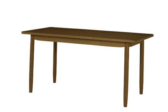 ソーサー ダイニングテーブル140 ブラウン