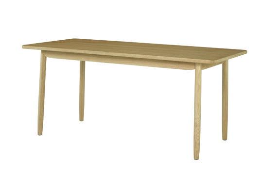 ソーサー ダイニングテーブル160 ナチュラル