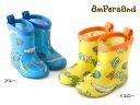ampersand Boys logo pattern tabbed rain shoes [14.0cm-20.0cm] ■ L164025-SP2-R ■ 8001160