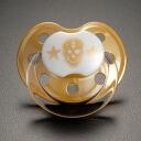 ROCK STAR BABY skull (5) Gold pacifier ■ 90048 ■ 70612 _