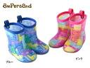 ampersand bandana pattern tabbed rain shoes [14.0cm-20.0cm] ■ L364014 ■ 8001060