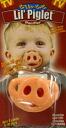 Pig pacifier ☆ Lil ' Piglet ☆ 0658890501604 ■ 71294 _