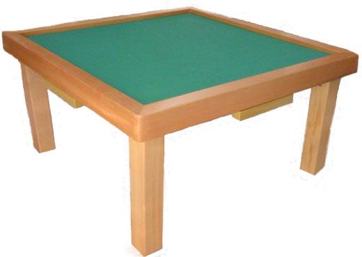 it is Assembled Mahjong Table