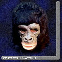 Party goods mask haunted, ghost hunt, horror, school Festival Director ★ black monkey mask U1HP001
