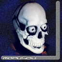 Party goods mask haunted, ghost hunt, horror, school Festival Director ★ skeleton mask M3HP032