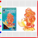 ★ クリスタルギャラリー Ariel 3D three-dimensional transparent puzzle, brain, and interior art Disney