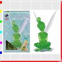★ クリスタルギャラリー Tinkerbell 3D three-dimensional transparent puzzle, brain, and interior art Disney