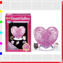 ★ Crystal Gallery, Hello Kitty, Angels and goblins puzzle 3D three-dimensional transparent, brains, and interior art Disney
