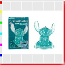 ★ Crystal Gallery stitch green 3D 3D transparent puzzle, brain, and interior art Disney