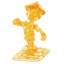 ★ クリスタルギャラリー Pinocchio 3D three-dimensional transparent puzzle, brain, and interior art Disney