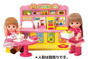Mel-Chan and outside parts Mel-Chan and Nene-Chan exciting play food court: pilot ink: dolls, fashion coordination