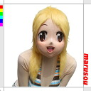 Party goods & fancy dress fun! ラバーマスク-anime Idol ★ Marilyn disguise mask