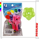 Party toy balloons, balloon art, decorative ★ balloon palette, 6-inch ブロッサムア sort