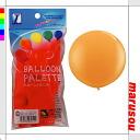 Party toy balloons, balloon art, decorative ★ balloon palette, 3 ft-Orange PJ375E