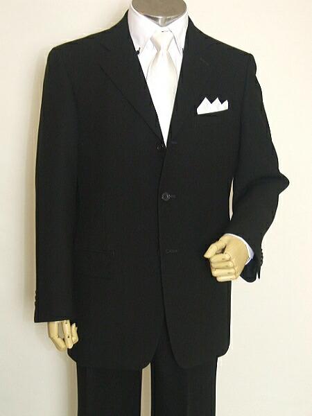 短袍黑西装正式西装图片