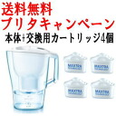 ブリタポット type Water Purifier with Aruna 2.0 L & 3 replacement cartridges