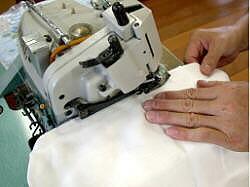 縫製します。