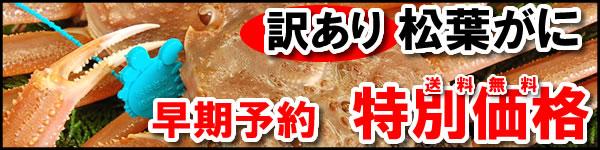 高級松葉ガニが2〜3枚詰込み【送料無料4500円】