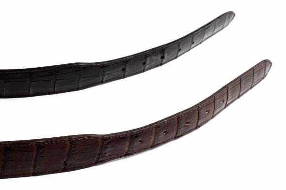 Blackjack alligator belts