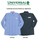 # 72 USPS long-sleeved work shirt-all 2 color universal overalls ( UNIVERSAL OVERALL ).