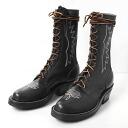 ブルハイドパッカー boots black Knicks boots ( NICKS BOOTS )