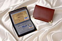 Put the card such as credit card or licence! Leather card case 2 color set fs3gm