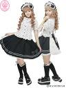 ドロップラインセーラーバッスル skirt