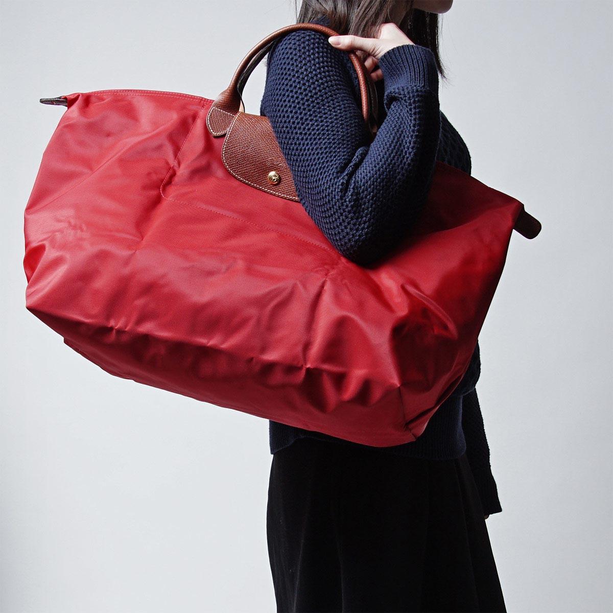 Best Buy Longchamp Le Pliage Tote Bags 2605 089 841 Beige moye