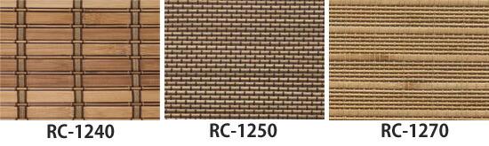 熏制竹屏幕棕色的安装方法   * rc-1270年类型是图像   熏竹帘布朗