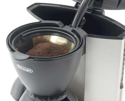 デロンギ 保温ポット付 コーヒーメーカー CM336N なら、ペーパーフィルターを必要としません。