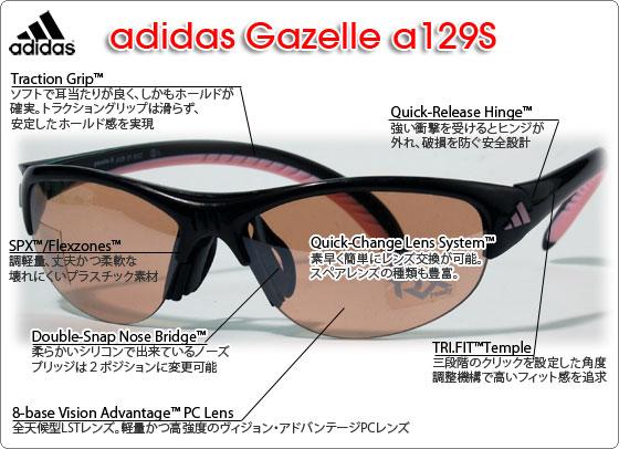 adidas a123L の特徴