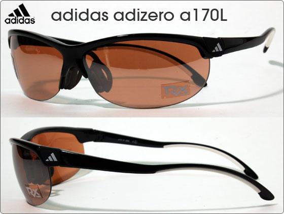adidas スポーツサングラス adizero a170L