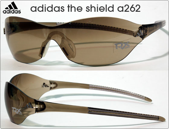 adidas スポーツサングラス the shield a262