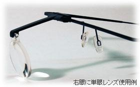 単眼レンズ使用例