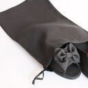 Portable bag heel slippers