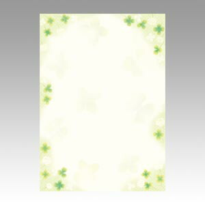 和柄用紙 和ごころ 白つめ草 10 ... : 手紙便箋テンプレート : すべての講義