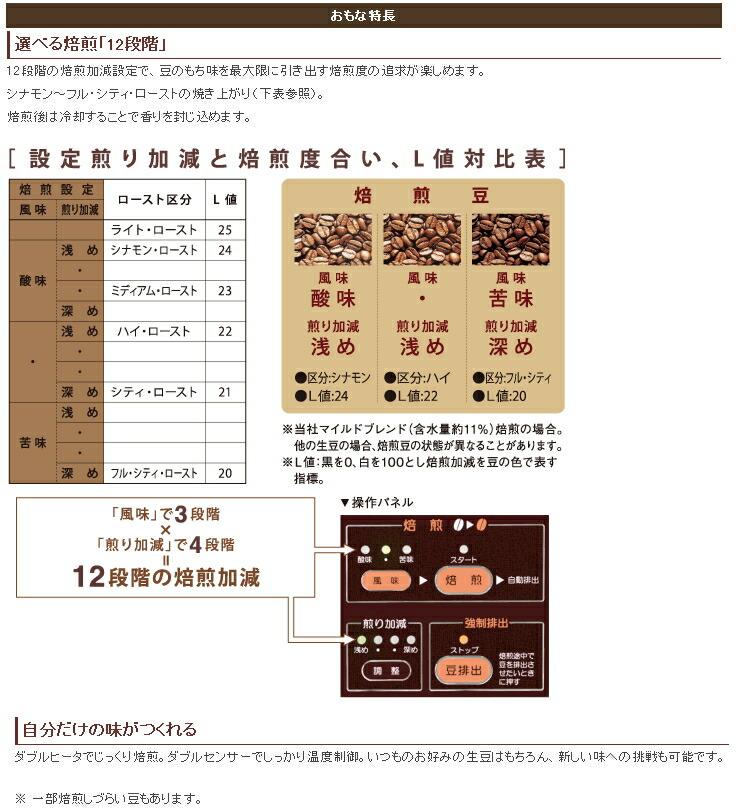ダイニチ:コーヒー豆焙煎機/MR-101