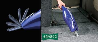 ツインバード:DC12V電源 カークリーナー/HC-5233BL ロイヤルブルー