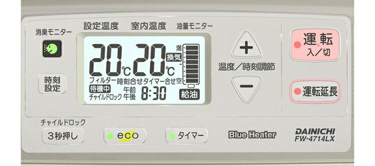 FW-4714LX モニター