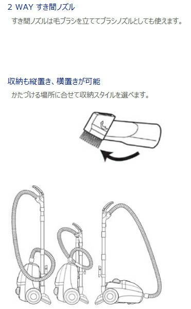 ツインバード:サイクロン家庭用クリーナー/YC-5019-WRワインレッド
