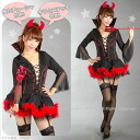 ◇ one headband, dress, little devil stick fur skirt! perfect for little devil Queen ☆ / MIME ☆ Halloween costume more than 7000 Yen